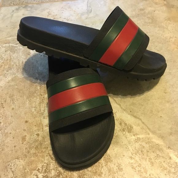 76ab52f765bb3 Gucci Shoes - UNISEX GUCCI SLIDES!